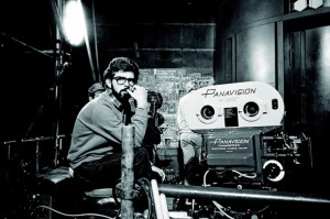 George Lucas lifecasting a Youth Soccer Game with Panavision