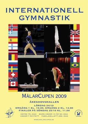 Mälarcupen in Artistic Gymnastic